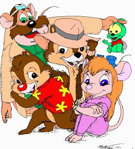 Chip and Dale Cartoon Disney